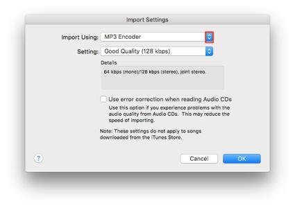 Convert Formats with iTunes | JRT Studio