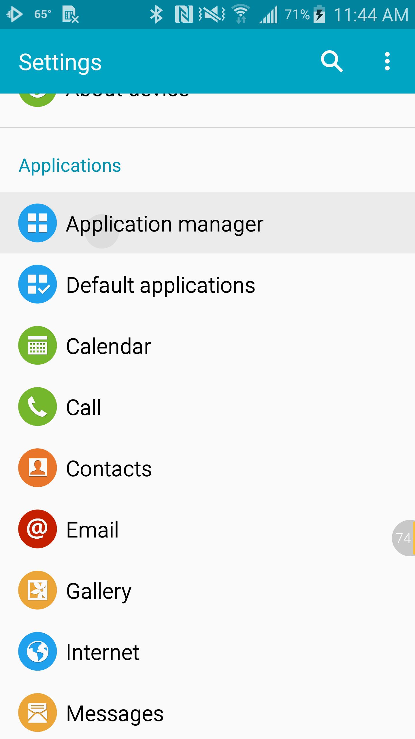 media storage android