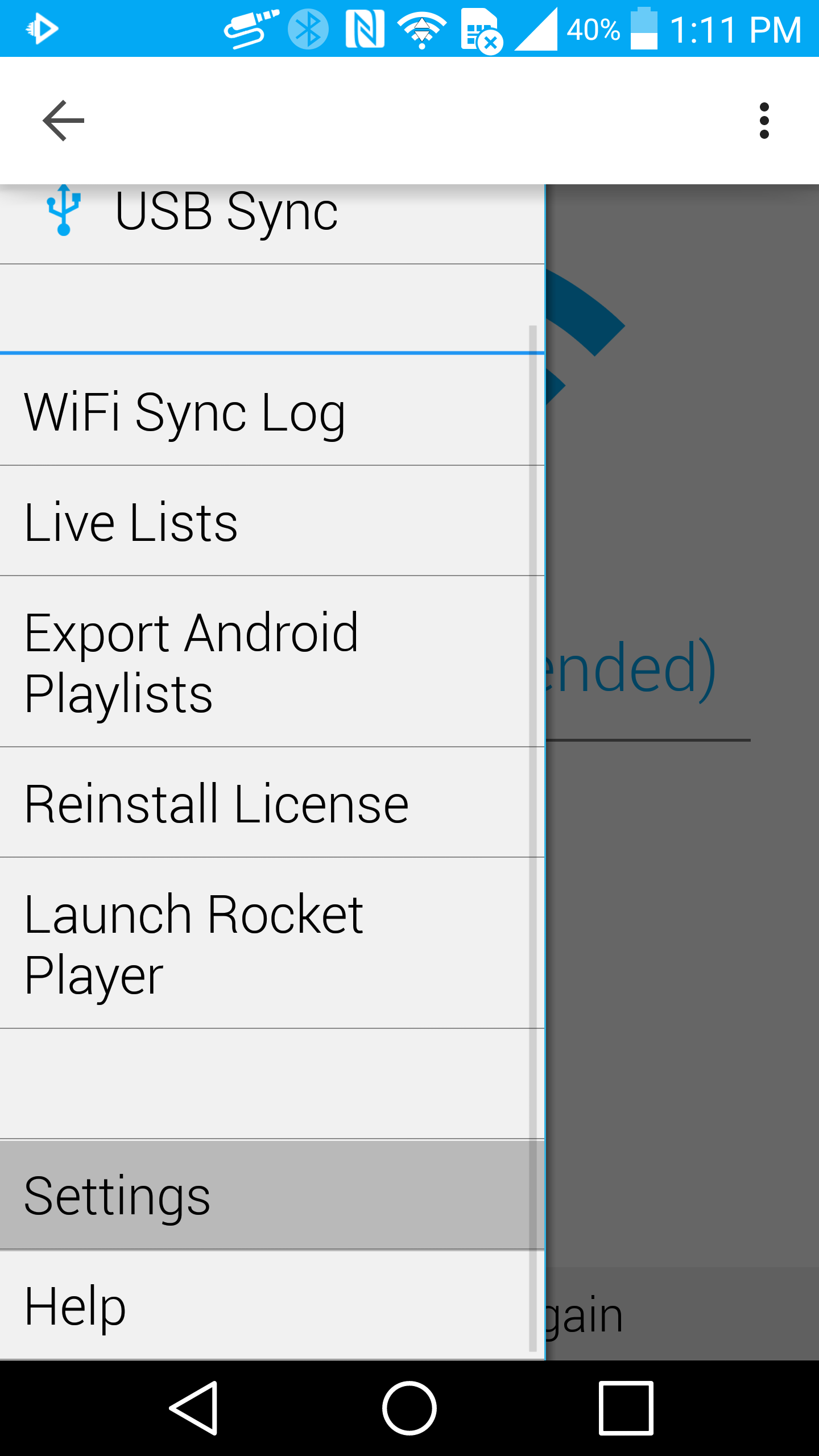 With The Notification Setting Enabled In Isyncr, Open The Settings On Your  Android Device If You Do Not Have Isyncr, Start By Opening The Settings On  Your