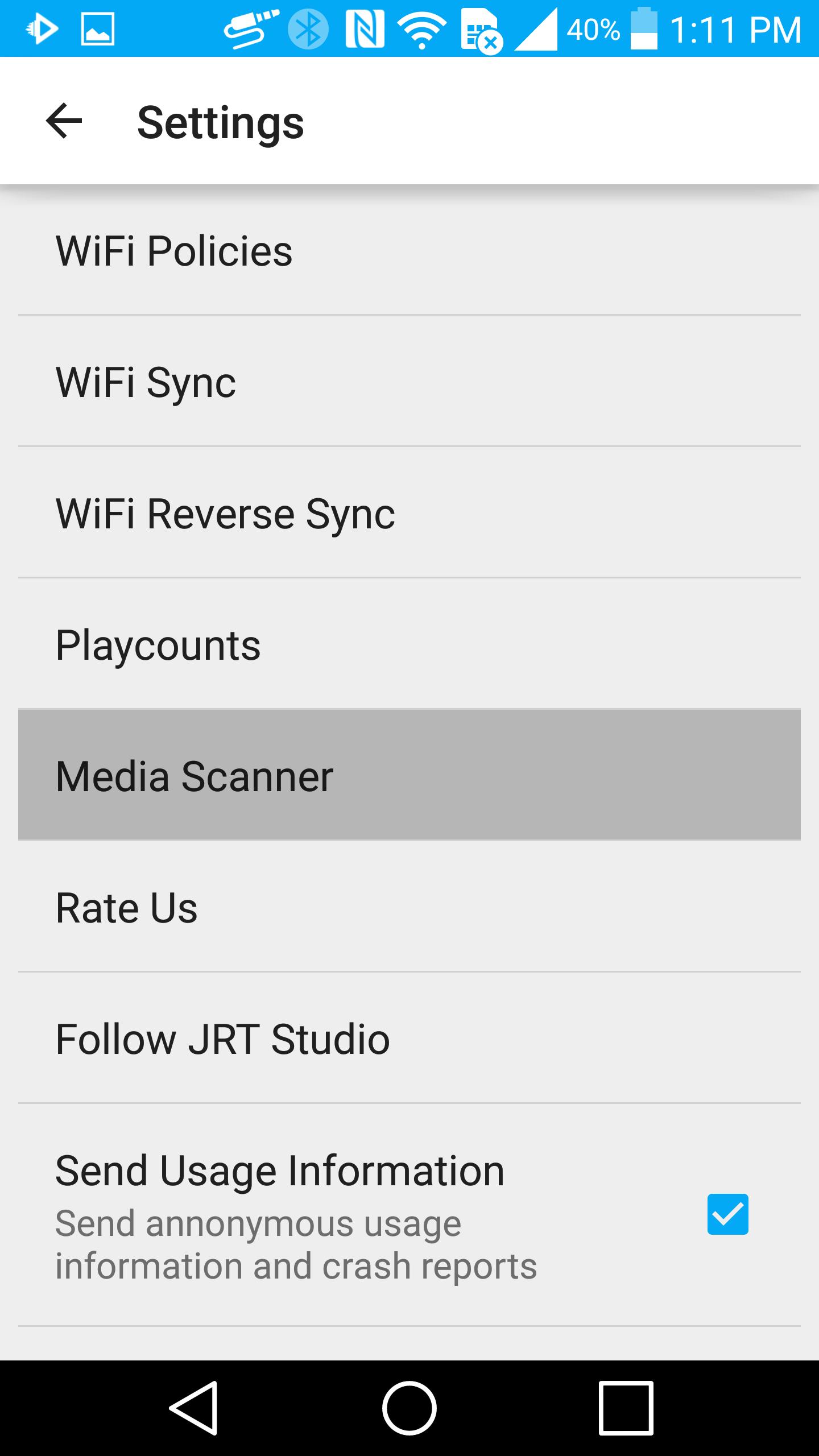Refreshing Android MediaStore Database | JRT Studio