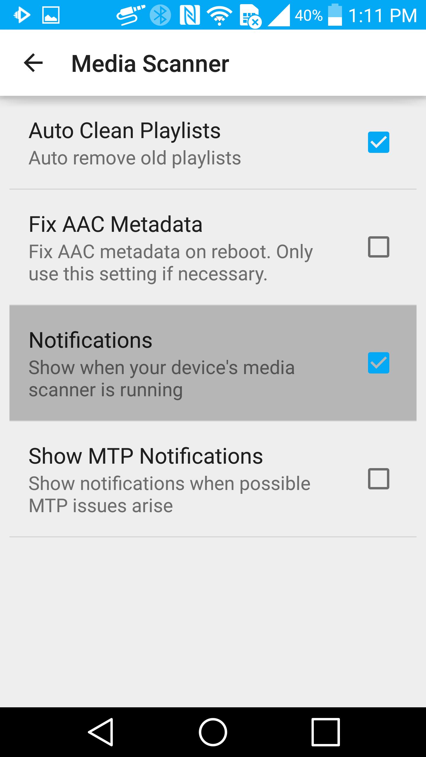 android mediastore