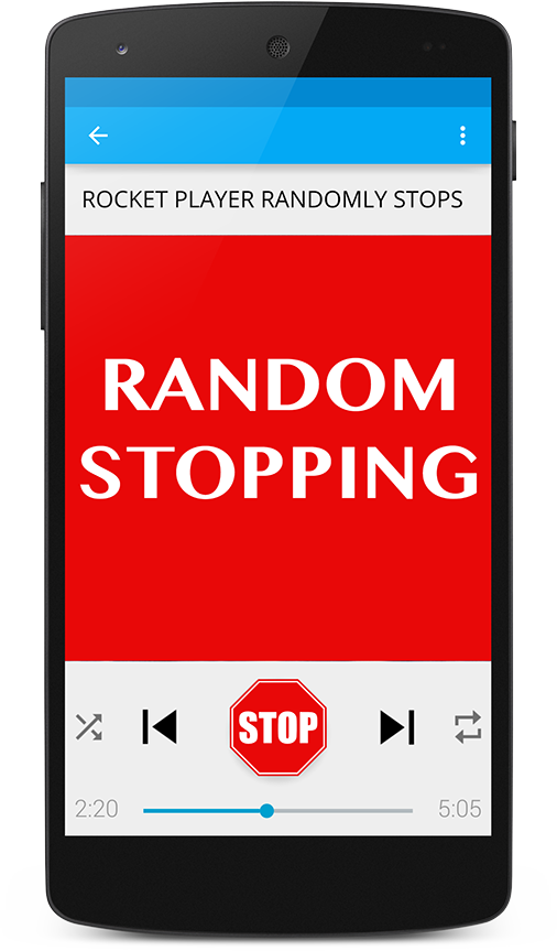 Rocket Player Randomly Stops